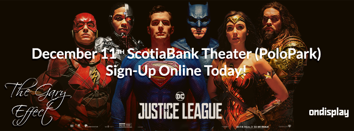 The Gary Effect Justice League Giveaway